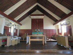 横浜聖アンデレ教会聖堂 内部